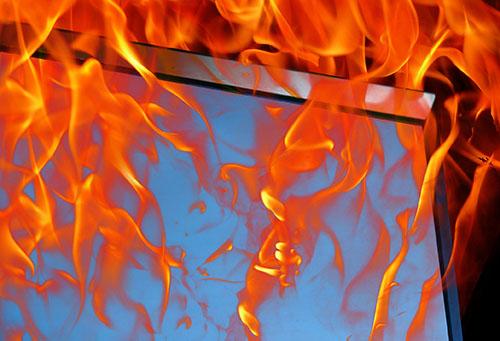 复合隔热型防火玻璃